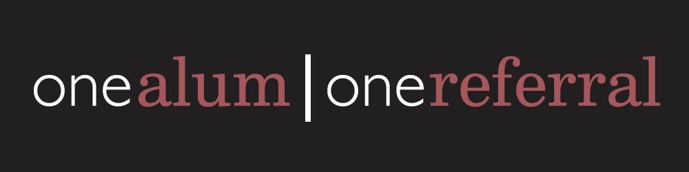 oneAlum|oneReferral